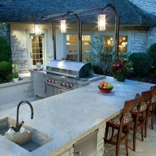 Huge folding doors will be drawn back and I will step into my second kitchen! That kitchen is outdoors and yes, you will find my family there! We love to cook outside here in sunny Southern California. We always grill our Thanksgiving turkey outdoors! Delish! #Cultivateit