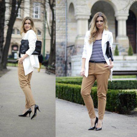 Smart casual. -  więcej na www.STYLIZACJE.pl