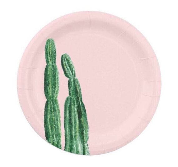 ▲ Cactus Paper Plates  This listing is for a pack of 8 paper plates. To purchase more than one pack use the quantity drop down menu above. Dimensions: 7 diameter  If you would like a different color, just send me a message.  ▲ Back to my shop: lake1221.etsy.com   Pink Cactus Paper Plates, pink paper plates, pink paper plate, cactus paper plates, cactus paper plate, pink cactus plates, cactus party