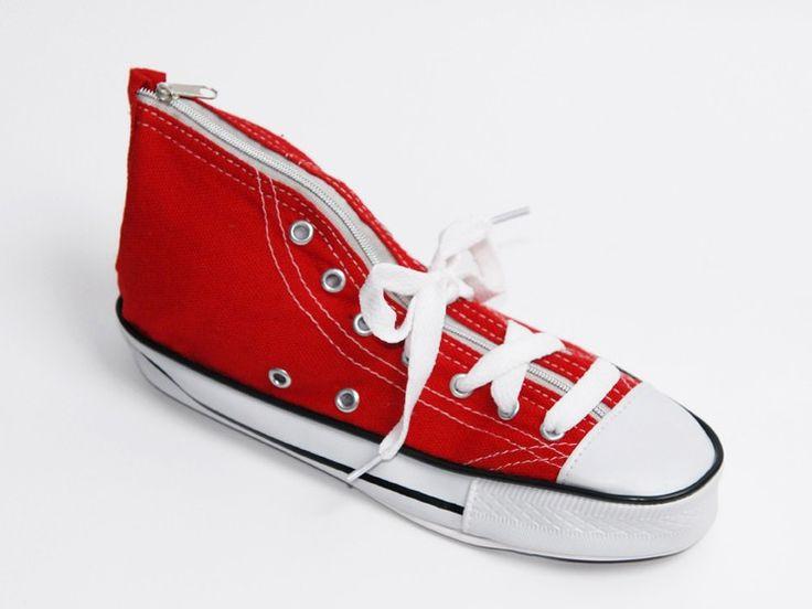 Sneaker Red Pencil Case