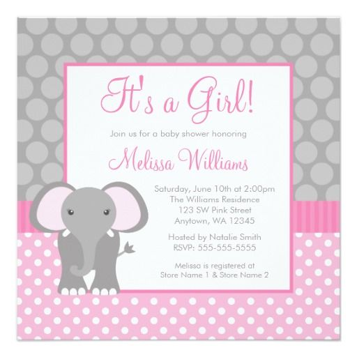 422 best images about elephant baby shower invitations on, Baby shower invitations
