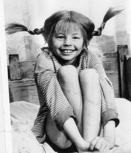 Pippi Longstocking- she's my favorite