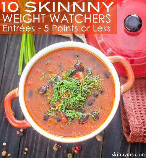 Weight Watchers recipes are the best!  10 Skinny WeightWatchers Entrées with 5 Points or Less  :-)  #weightwatchers #recipes