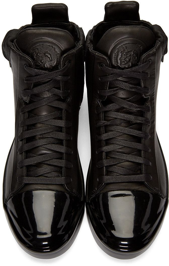 66b359c62b7e Diesel - Black S-Nentish Special High-Top Sneakers   Just Peachy ...