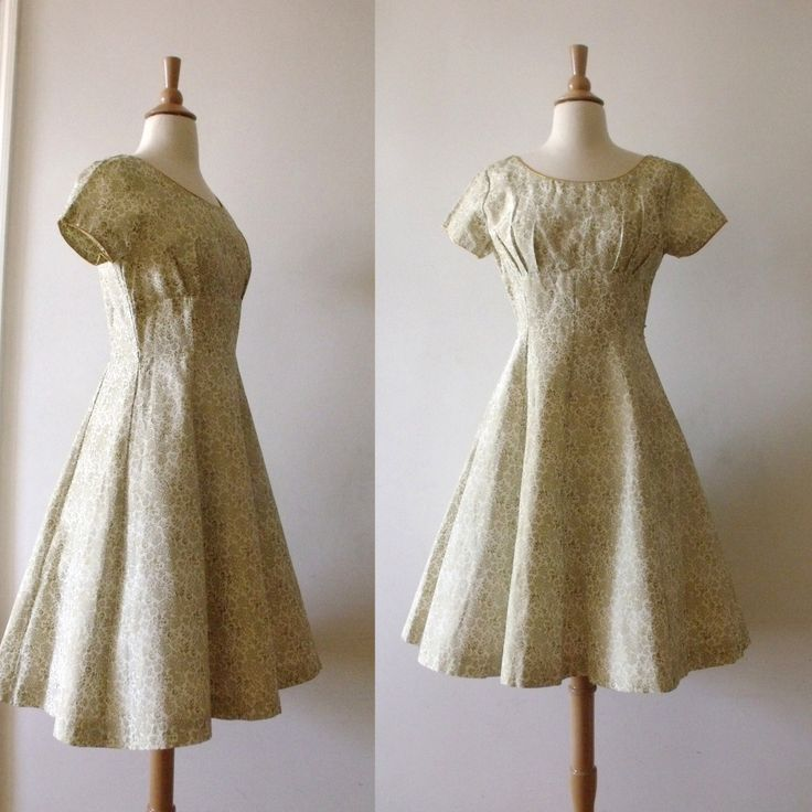 """1950s Party Dress-36"""" Bust by Vintagedustshop on Etsy https://www.etsy.com/listing/179337953/1950s-party-dress-36-bust"""