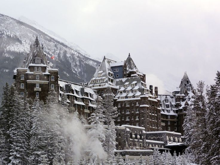 The Fairmont Banff Springs 5* was built in 1888 and it is styled after a Scottish Baronial castle and it is a National Historic Site