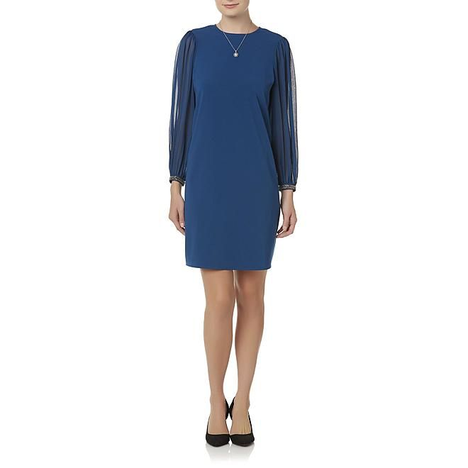 8312277448247 Sears.com. Simply Styled Simply Styled Petites  Embellished Shift Dress
