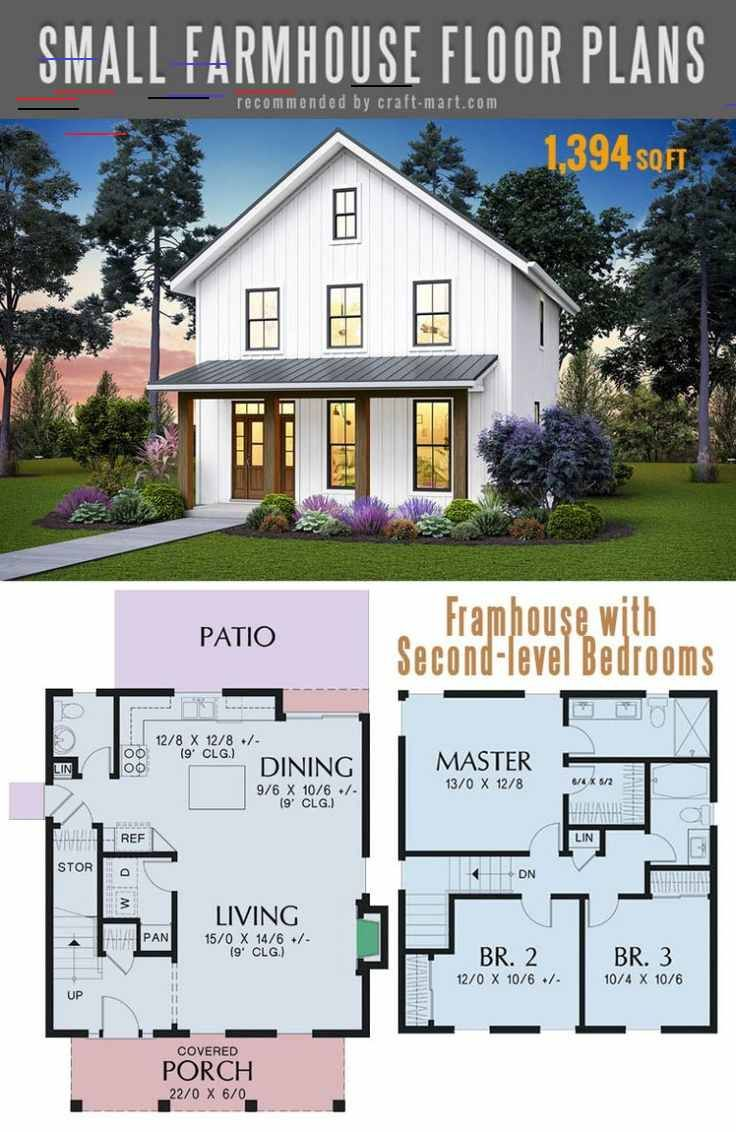 Small Farmhouse Plans For Building A Home Of Your Dreams Craft Mart The Best Simple Farmho Small Farmhouse Plans Simple Farmhouse Plans House Plans Farmhouse