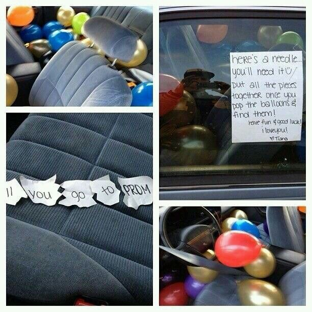 Cute way to be asked to prom