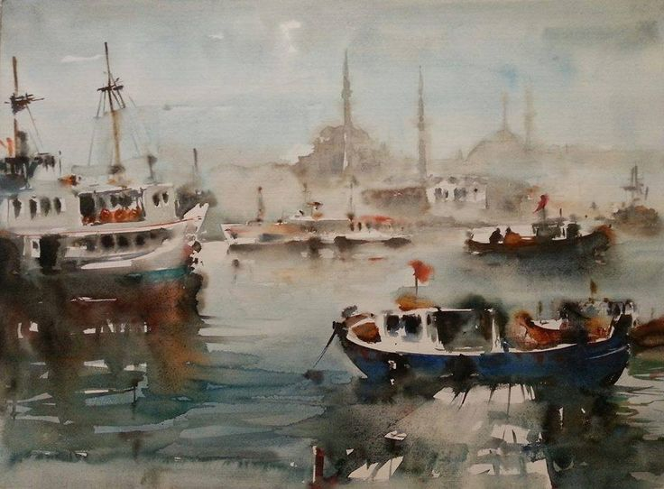 Ressam Burhan Özer