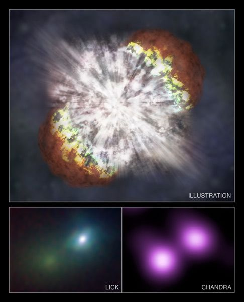 Quark Star Plays Role in New Theory for Brightest Supernovae