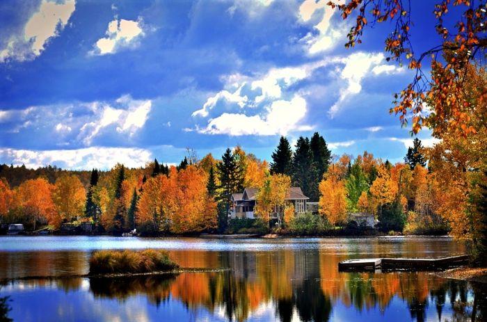 foto de ▷ 1001 + jolies photos pour fond d'écran de paysage d'automne ...