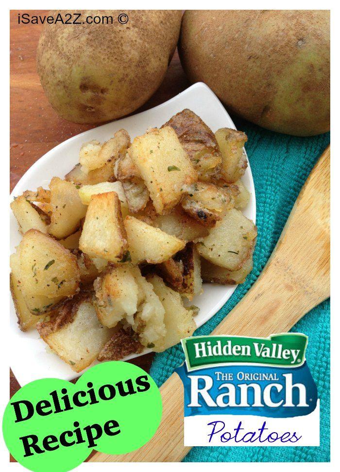 Pan Fried Ranch Potatoes recipe hero