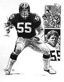 Pittsburgh Steelers Jon Kolb NFL Football Player Poster