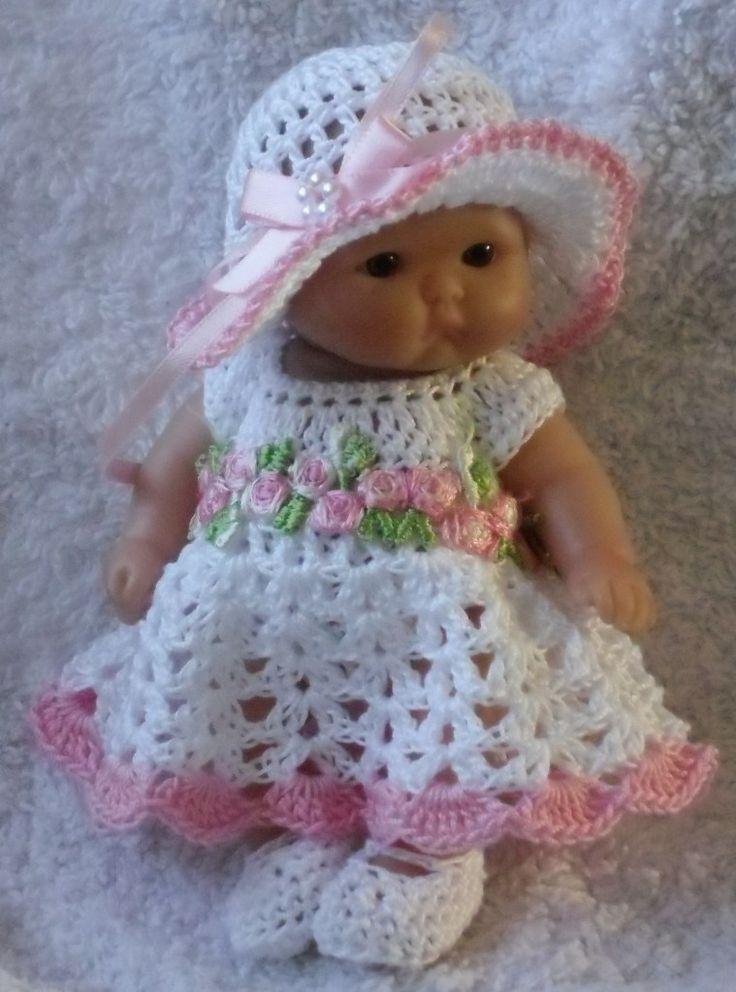Knitting Patterns For 5 Inch Dolls : 17 Best images about 5 inch baby dolls on Pinterest ...
