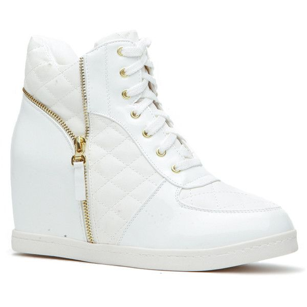 17 best ideas about White Wedge Sneakers on Pinterest | Wedge ...