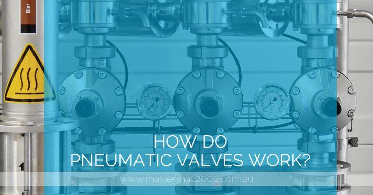 How do pneumatic valves work pressure control valve