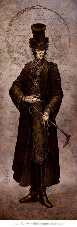 Havelock Oliphant Esq. by Keith Thompson, ~Keithwormwood on deviantART