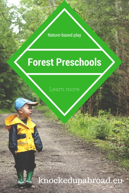 Forest Preschools | Knocked Up Abroad