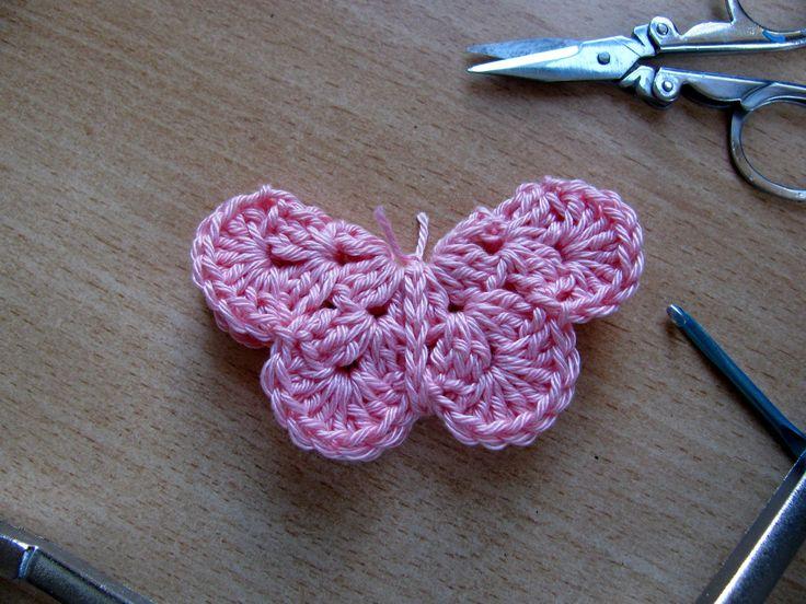 Dinaz: DIY Vlinder haken #1