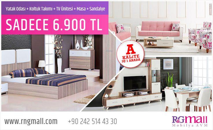 A Kalite 3ü 1 Arada Kampanyamızı Kaçırmayın! ✴ Detaylar: http://rngmall.com/guncel-kampanyalar/a-kalite-3u-1-arada/     #rngmall #mobilya #avm #alışveriş #dekorasyon #kampanya #yatak #odası #tv #ünitesi #oturma #odası #koltuk #akalite #alanya