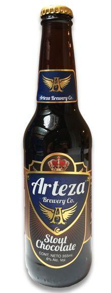 Cerveza Artesanal Mexicana - Stout Chocolate - Arteza Brewery Co. #MexicanBeer #CervezaMexicana #CraftBeer #StoutChocolate