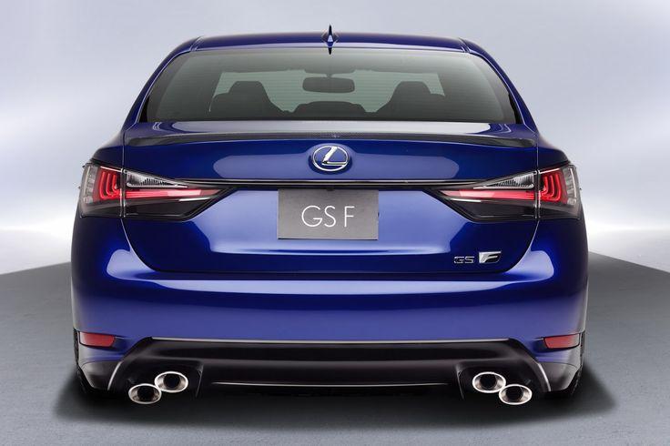All-New 2016 Lexus GS F has a 467HP 5.0-liter V8
