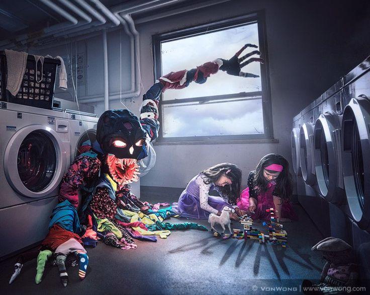 #Photography: Photo Shoot Raises Awareness of Toxic Laundry Water. #Environment