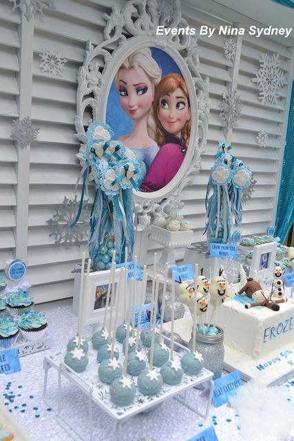 Frozen Birthday Party Ideas   Photo 1 of 18   Catch My Party