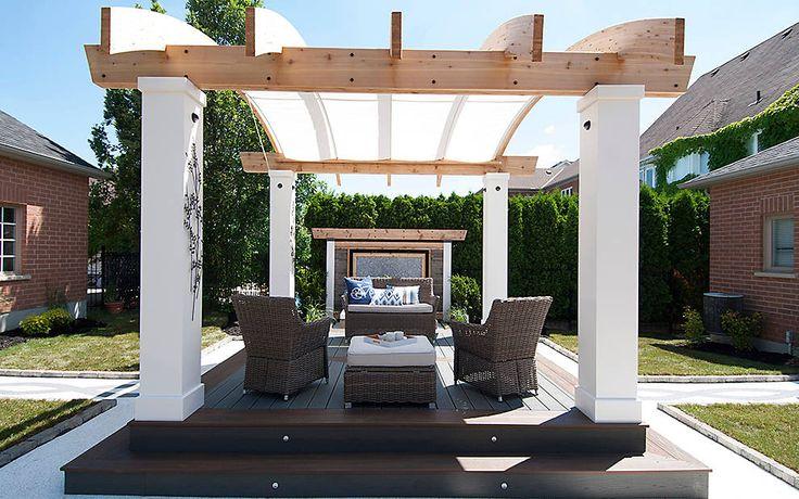 Backyard patio deck ideas - Shenandoah Deck Design Ideas Amp Photos Trex Front Steps