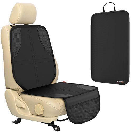 Premium Seat Cover for Baby & Toddler Car Seats by FORTEM - 100% Waterproof Durable Quality Car Seat Protector + Kick Mat - Protection Against Damage to Leather & Cloth Seats. For product info go to:  https://www.caraccessoriesonlinemarket.com/premium-seat-cover-for-baby-toddler-car-seats-by-fortem-100-waterproof-durable-quality-car-seat-protector-kick-mat-protection-against-damage-to-leather-cloth-seats/