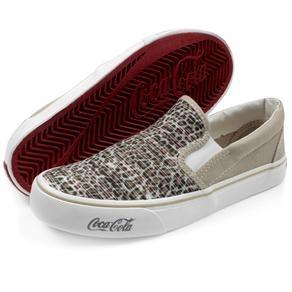 Tênis Coca-Cola Iate R$119.90 (em até 10x) - Compre aqui http://www.footcompany.com.br/Tenis-Coca-Cola-Iate-CC0139BEGE/p