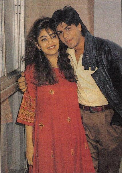 SRK with Gauri. . .