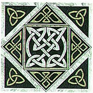 Forres Knot, Celtic Block Patterns by Celtic Crossworks at Creative Quilt Kits