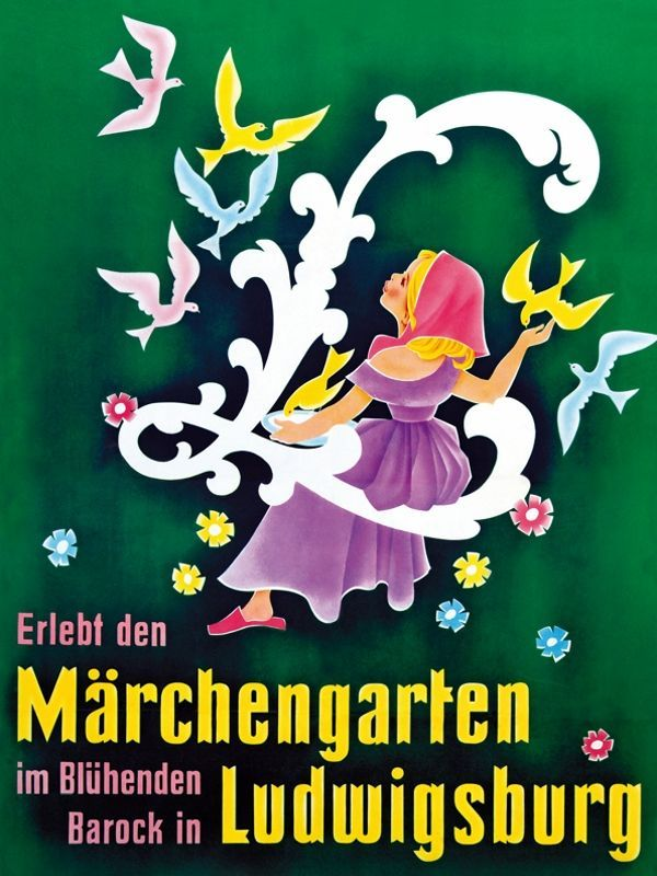 Märchengarten 1959 - Blühendes Barock Ludwigsburg – Gartenschau, Märchengarten
