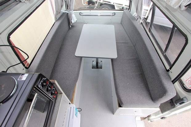 toyota hiace high roof camper 5778 for sale 8 - Caravans for sale – Used and new caravans