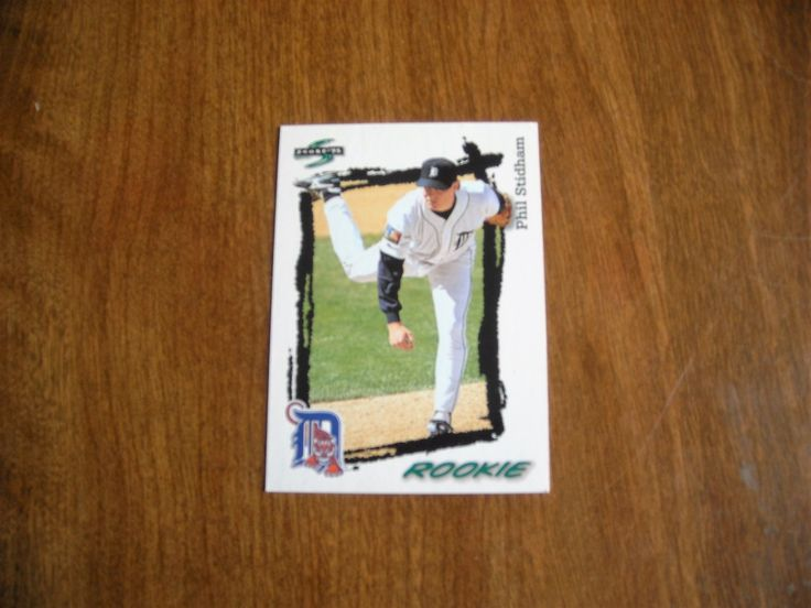 Phil Stidham Detroit Tigers RP Card No. 594 (BC594) Score '95 Baseball Card - for sale at Wenzel Thrifty Nickel ecrater store