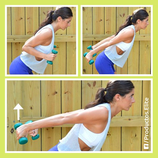 Ejercicios para fortalecer el tricep y olvidarnos de los brazos flácidos. #Actívate #Ejercicio #MamáElite