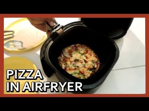 Pizza in Airfryer | Pizza at home with Airfryer | Air Fryer Pizza - YouTube