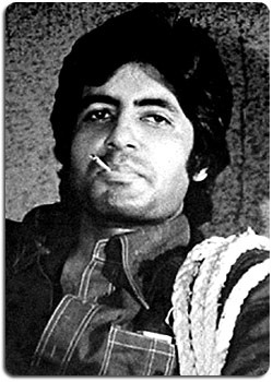 Amitabh in Deewar. This scene always reminds me of Harrison Ford in Star Wars' cantina scene.