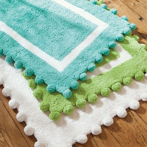 Pom Pom Bath Mat Pbteen Teen Girls Bedroom Pinterest