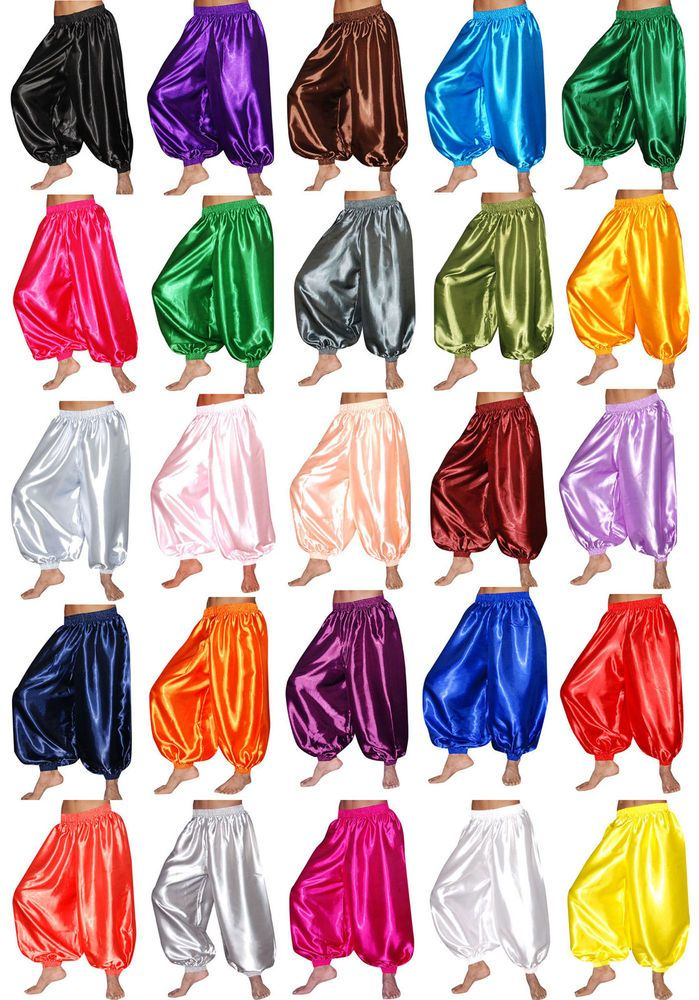 S HAREM YOGA GENIE TROUSERS BELLY DANCE PANTS COSTUME DRESS OUTFIT SELECT COLORS #UNBRANDEDCUSTOMEMADEBYUS $1.99