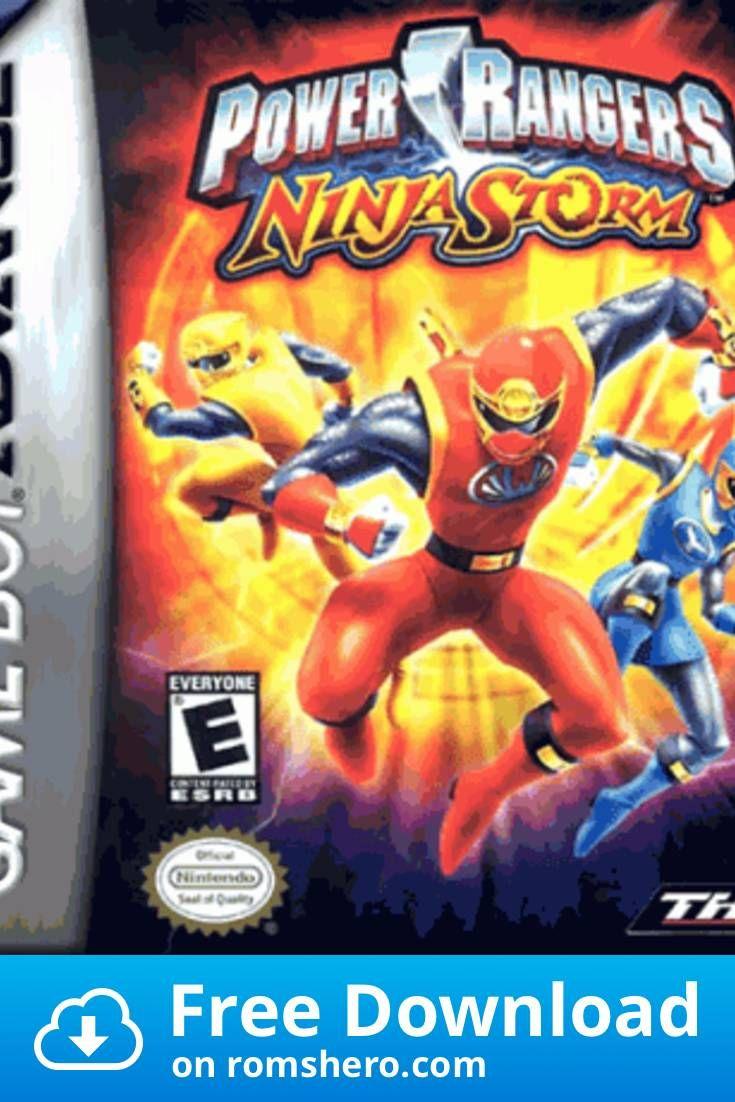 Download Power Rangers Ninja Storm Gameboy Advance Gba Rom Power Rangers Ninja Power Rangers Ninja Storm Power Rangers