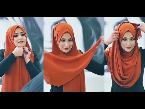 HIJAB TUTORIAL KEBAYA / FORMAL EDITION (PART 1) - YouTube