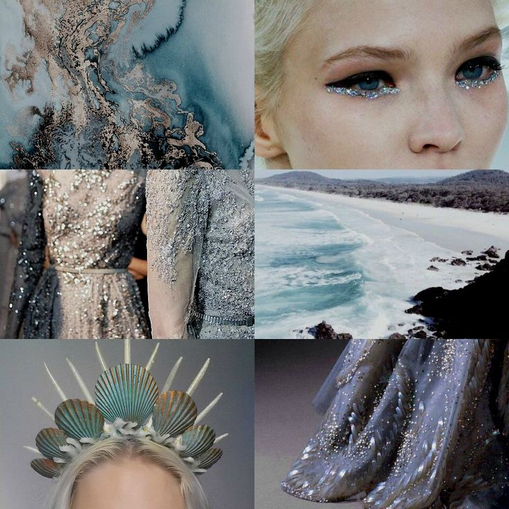 Modern Greek Mythology: Benthesikyme Greek Goddess of Ocean Waves; Daughter of Poseidon and Amphitrite.