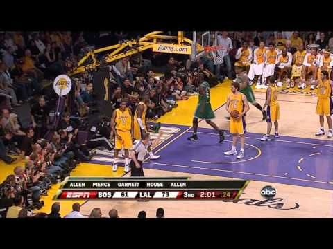 Boston Celtics' amazing 24 point comeback vs Lakers (2008 NBA Finals Game 4) - YouTube