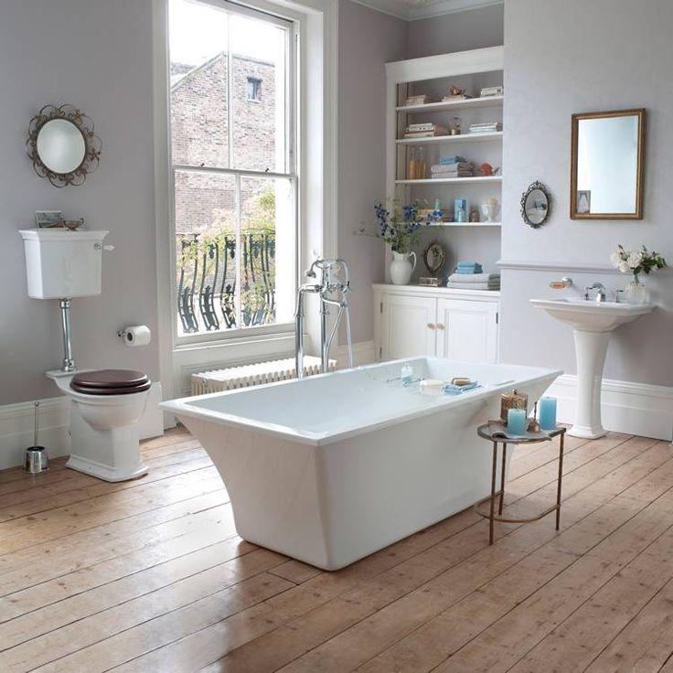 Les 25 meilleures id es de la cat gorie salles de bains for Carrelage salle de bain style ancien