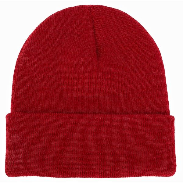 Nly Accessories Knitted Beanie ($13) ❤ liked on Polyvore featuring accessories, hats, accessories miscellaneous, red, womens-fashion, acrylic hat, beanie hats, beanie cap, red beanie and red beanie hat