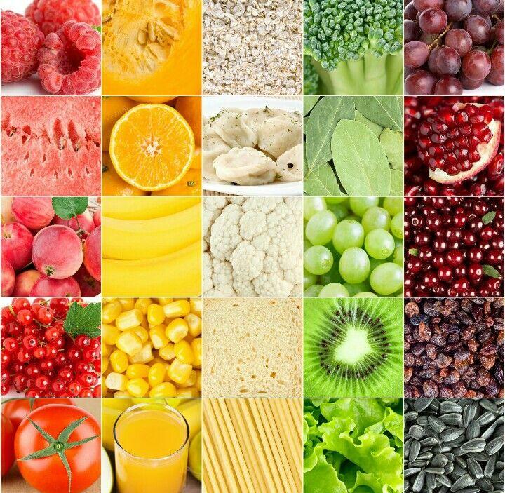 5 porzioni di frutta e verdura al giorno (due di verdura e tre di frutta) una per ogni colore per una vita più sana!  5 portions of fruits and vegetables (3 of fruits and 2 of vegetables) one for every color for an healty life!
