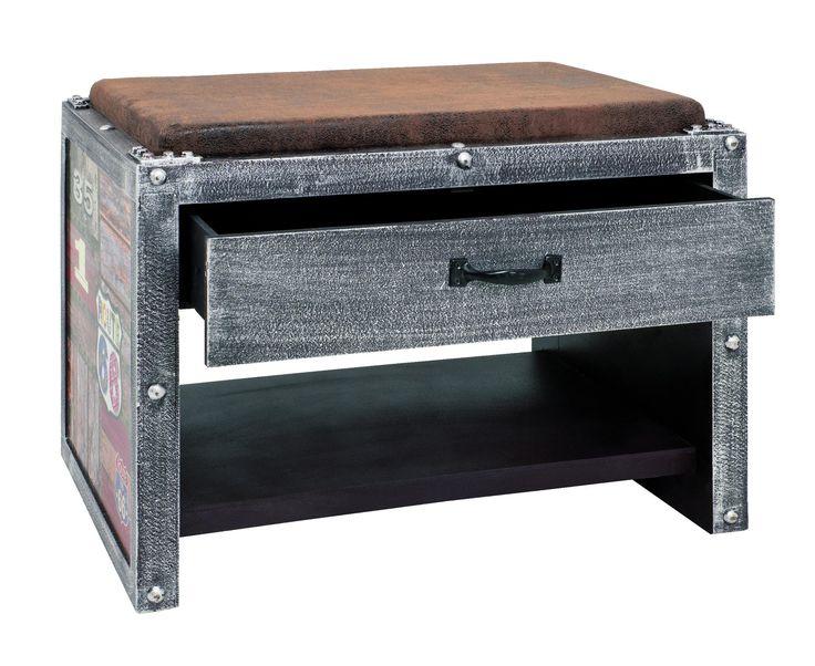 Odkládací lavice ROUTE 30809 - Sconto Nábytek